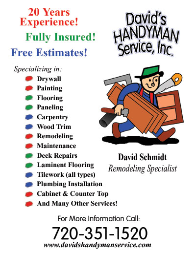 Sample Handyman Flyers